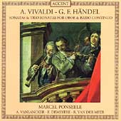 Vivaldi, Handel: Sonatas for Oboe / Marcel Ponseele, et al