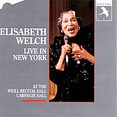 Elisabeth Welch: Live in New York