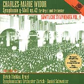 Widor: Symphony for Organ and Orchestra in G minor, etc