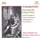 Tchaikovsky: None but the Lonely Heart / Nishizaki, et al