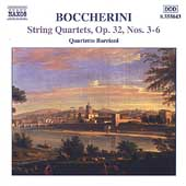 Boccherini: String Quartets Op 32 no 3-6 /Quartetto Borciani