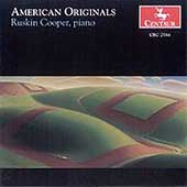 American Orginals - Gottschalk, Barber, etc / Ruskin Cooper