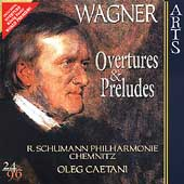 Wagner: Overtures and Preludes / Caetani, Schumann PO