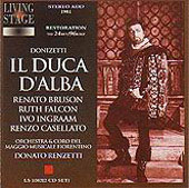 Donizetti: Il Duca d'Alba / Renzetti, Bruson, Ingraam, et al
