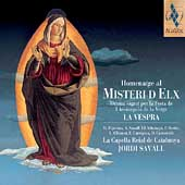 Homenaige al Misteri d'Elx - La Vespra / Savall, et al