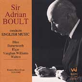 Sir Adrian Boult conducts English Music