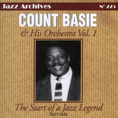 Count Basie: The Start of a Jazz Legend, Vol. 1: 1937-1939