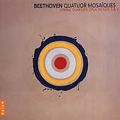 Beethoven: String Quartets Op 18 no 5 & 6 /Quatuor Mosaïques