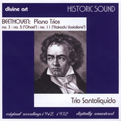 Historic Beethoven / Trio Santoliquido
