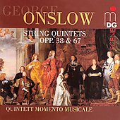 Onslow: String Quintets / Quintet Momemto Musicale