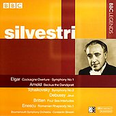 Elgar, Tchaikovsky, Britten, et al / Silvestri
