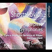 Shostakovich - The Complete Symphonies / Caetani, et al
