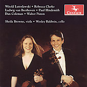 Beethoven, Lutoslawski, etc / Sheila Browne, Wesley Baldwin