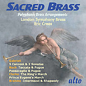 Sacred Brass - Polyphonic Brass Arrangements / Crees