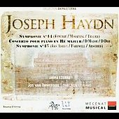 Haydn: Symphonies no 44-45, Piano Concerto in D major / Immerseel, et al