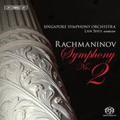Rachmaninov: Symphony no 2, Vocalise / Lan Shui, Singapore Symphony Orchestra