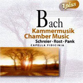 Bach: Chamber Music / Pank Rost Schreier