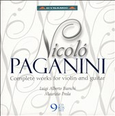Nicol&#243; Paganini: Complete Works for Violin and Guitar [Box Set]