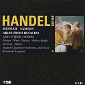Messiah/Samson/Arias from Rinaldo