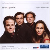 Robert Schumann: String Quartet Op. 41/1; Piano Quintet Op. 44