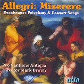 Renaissance Polyphony / James Bowman, Catherine Bott, Paul Esswood