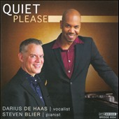Steven Blier/Darius de Haas: Quiet Please