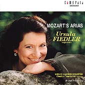 Mozart's Arias /Ursula Fiedler, Claudius Traunfellner, et al