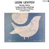 Levitch: Ricordo di Mario, etc / Donovetsky, Valley Quartet