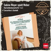 Weber: Clarinet Concertos nos 1 & 2 / Sabine Meyer, clarinet