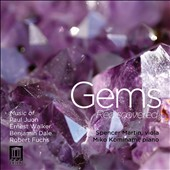 Gems Rediscovered: Juon, Walker, Dale & Fuchs / Spencer Martin, viola; Miko Kominami, piano