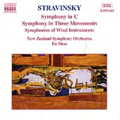Stravinsky: Symphony in C, etc / En Shao, New Zealand SO