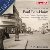 Music in Exile: Chamber Works by Paul Ben-Haim / ARC Ensemble