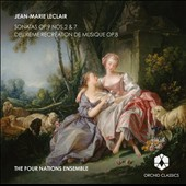 Leclair: Sonatas Op. 9, Nos 2 & 7, Deuxieme Recreation de Musique / Four Nations Ensemble