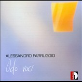 Alessandro Farruggio: Chamber music for narrator & instruments / Odo Voci