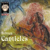 Britten: The Five Canticles / Marcus Farnsworth