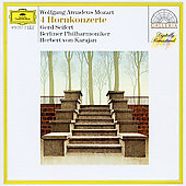 Mozart: Four Horn Concerti / Seifert, Karajan, Berlin Phil