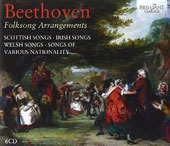 Beethoven: Folksong Arrangements / Brahms Trio; Berliner Solistenchor; Members of the Radio Chorus Leipzig et al.