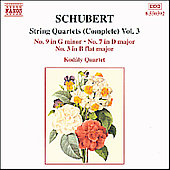 Schubert: String Quartets Vol 3 / Kodály Quartet