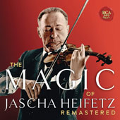 The Magic of Jascha Heifetz Remastered - Works by Gershwin, Prokofiev, Ibert / Jascha Heifetz, violin; various artists