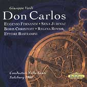 Verdi: Don Carlos / Santi, Fernandi, Jurinac, Christoff