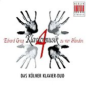 Grieg: Klaviermusik zu vier H&#228;nden / Cologne Piano Duo