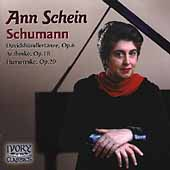 Grace and Poetry - Schumann: Arabeske, etc / Ann Shein