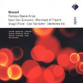 Mozart: Famous Opera Arias / Bartoli, Gruberova, et al