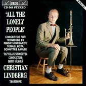 All the Lonely People - Concertos for Trombone / Lindberg