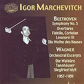 Beethoven: Symphony no 5, etc;  Wagner / Markevitch, et al