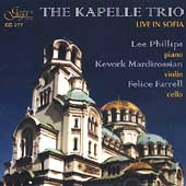 Live in Sofia - Brahms, Debussy, Schoenfield / Kapelle Trio