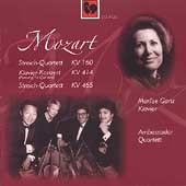 Mozart: String Quartets, etc / Ganz, Ambassador Quartet