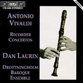 Vivaldi: Recorder Concertos / Laurin, Drottningholm Baroque