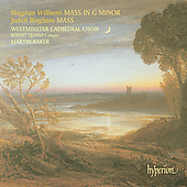 Vaughan Williams: Mass in G minor;  Bingham / Baker, et al