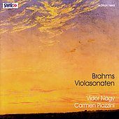 Brahms: Sonatas for Viola and Piano / Nagy, Piazzini